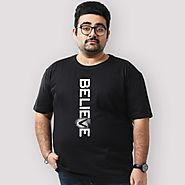 Website at https://www.beyoung.in/mens-plus-size-t-shirts