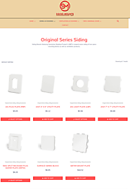 Siding mounts offer original series siding accessories at best prices