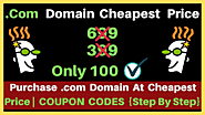 {Godaddy Promo Code} Buy .com Domain at Cheapest Price From Godaddy