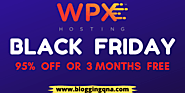 WPX Hosting Black Friday deal 2020: 95% OFF Or 3 Months Free