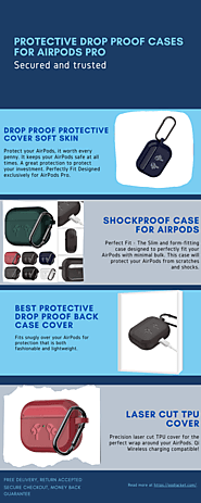Protect your AirPods Pro with the Drop Proof Cases