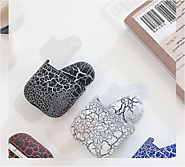 Crack Pattern Hard Cases For AirPods