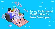 Spring Professional Certification For Java Developers
