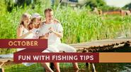 Grab your fish this October with some useful fishing tips