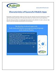 Characteristics of Successful Mobile Apps