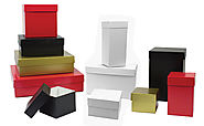 Rigid Boxes | Custom Wholesale Rigid Gift Boxes