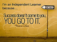 Independent Learners...Independent Adults. - Kids Learn Fast
