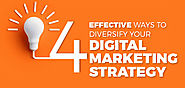 4 Effective Ways to Diversify Your Digital Marketing Strategy