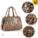 Women Leopard Print Leather Handbags CW219146 - CWMALLS.COM