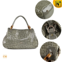 Womens Cowhide Leather Handbags CW300213 - CWMALLS.COM