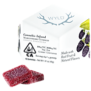 Wyld Marionberry Edible Gummy - Pot Valet
