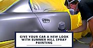 Camperdown Collision Centre: Give Your Car a New Look With Spray Painting