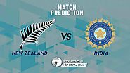 Live Cricket Scores & Live Streaming of New Zealand Vs India 1st ODI Match Prediction, IND Vs NZ