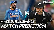 Live Streaming and Score of New Zealand Vs India 2nd ODI Match Prediction, IND Vs NZ