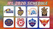 IPL 2020 Full Schedule: Venue, Fixtures, Date And Time | Indian Premier League 2020