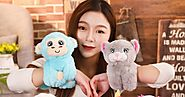 Cute cartoon animal bracelet plush toy doll Unicorn kids holiday gift - Secret Shopping Stuff