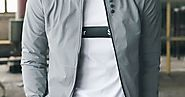 Men's Bomber Zipper Jacket Hip Hop Slim Fit Pilot Coat - Secret Shopping Stuff