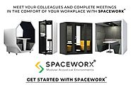 Follow Spaceworx on LinkedIn: Quiet phone booth