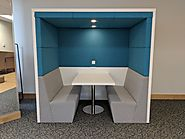 Conference room pods: Latest office design layouts for employees work productivity
