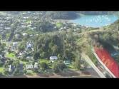 Russell Bay of Islands New Zealand Aerial View