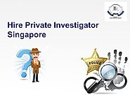 Private Investigator in Singapore