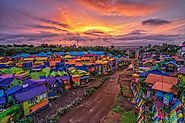 Jodipan Rainbow Village