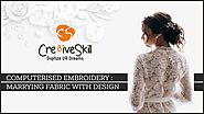 Computerised Embroidery: Marrying Fabric with Designs - Embroidery Digitizing, Vector Art Conversion, Contract Garmen...