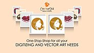 One Stop Shop for All Your Digitizing and Vector Art Needs - Embroidery Digitizing, Vector Art Conversion, Contract G...