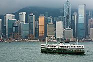 Victoria Harbour By Star Ferry