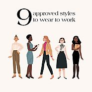 9 Approved Styles To Wear To Work | Office Outfits Ideas – SimplyMaelle