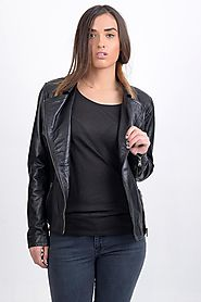 Top Class Women Leather Jacket