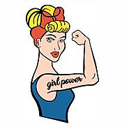 Rosie The Riveter Girl Power Svg Cut File