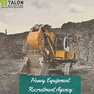 Heavy Equipment Operator Recruitment Agency | Talon Recruiting