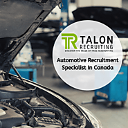 Automotive Recruitment Specialist In Canada