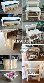 27+ Best Wooden Pallet Furniture Projects Ideas And Tutorials - Sensod - Create. Connect. Brand.