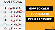 How to Calm yourself in Exam Pressure | TutorEye