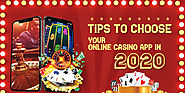 Tips to choose your online casino app in 2020