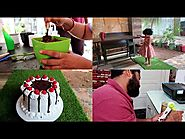 Making Yummy Black Forest Cake At Home