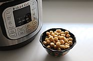 How to Cook Chickpeas in Instant Pot using Delay Start