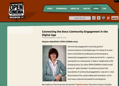 Community Engagement in the Digital Age - OPEN CINEMA