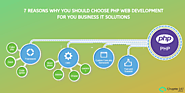 7 Reasons why you should choose PHP Web Development for you business IT Solutions | Chapter 247
