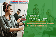 Internship Opportunities in Ireland for International S on Behance
