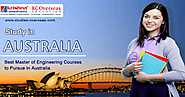 Best Master Of Engineering Courses To Pursue In Australia by Ragini Sharma | Aileensoul