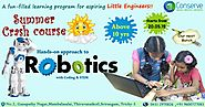 Robotics Training Courses for Kids in Qatar, Robotics Engineering Course, Robotic Classes Qatar | Conserve Solution
