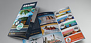 Tourism Brochure Design - Creative Handmade Brochure Design For Tourism