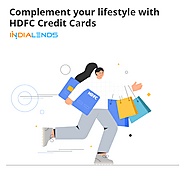 Compliments your lifestyle with HDFC credit Cards