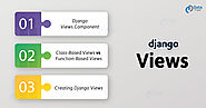 Django Views - 6 Simple Steps to Create View Component for Django Project - DataFlair