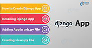 How to Create, Install & Deploy Your First Django App - DataFlair