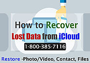 Website at https://clouddrivehelper.com/recover-lost-data-from-icloud/
