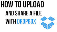 How to Upload Videos to Dropbox on App or Website- Call 1-800-385-7116